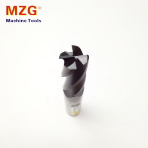 Four Edge Tungstan Round Nose End Mill Milling pictures & photos