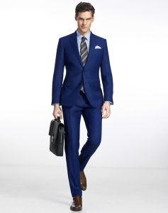 Navy Blue Men Business Work Wear Office Dress Suit