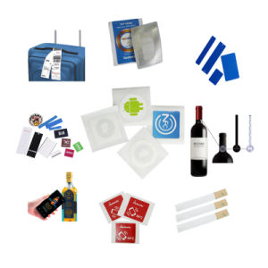 ISO/IEC 18000-6c RFID UHF Tag with Glue for Shoes Tracking pictures & photos