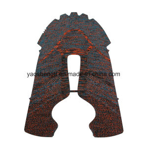 OEM ODM Flat Knit Shoes Upper and Flat Knit Fabric pictures & photos