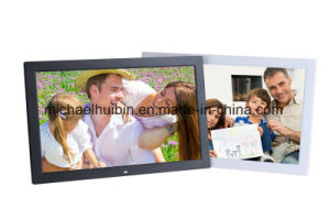 Factory Customized 18.5inch LCD Screen Vesa Wall-Mounted Advertising Machine (HB-DPF1852) pictures & photos