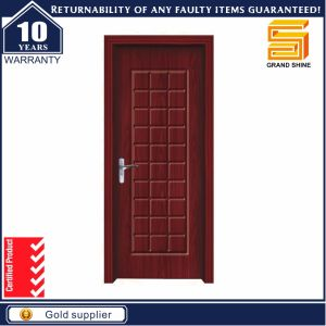 PVC Laminated Interior Wooden Entry Door Available in Indian Market pictures & photos