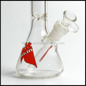 "Hfy Glass Made of Glass Water Pipe for Smoking Pyrex Hitman Beaker Pipe 10"" in Stock Borosilicate Pyrex pictures & photos"
