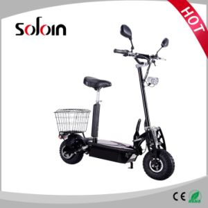 2 Wheel Balance Foldable Brushless Motor Mobility Electric Motorcycle (SZE500S-4)