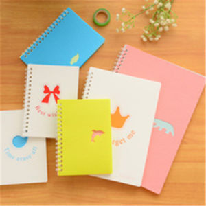 Custom Spiral Notebook Hardcover Cartoon Notebook Printing pictures & photos
