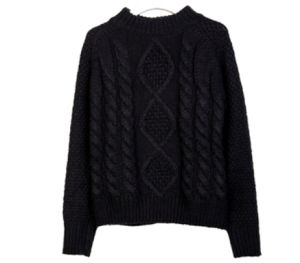 Fashion Ladies Hand Knit Sweater Cardigan Knitwear Dress Average Size pictures & photos