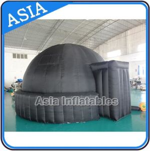 Air Lock 360 Movie Dome for Sky Planetarium Obsevery, Portable Planetarium Dome Black Movie Air Inflatable Planetarium Tent for Projector pictures & photos