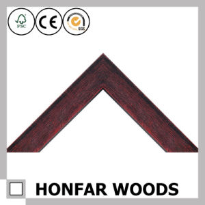 USA Brown Wood Frame Picture pictures & photos