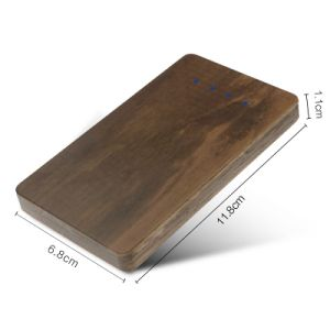 Portable Promotional Gifts New Model Walnut Wooden Power Banks (PB-M02A) pictures & photos