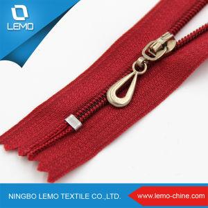 Fashion Jeans Plastic Bag Nylon Zipper for Garment pictures & photos