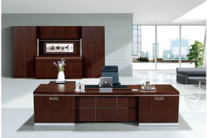 Modern Wooden Office Furniture Desk for Sale, Office Executive or CEO Table pictures & photos