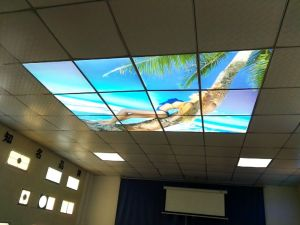Dimmable Aluminum LED Panel Light with Scene Picture pictures & photos