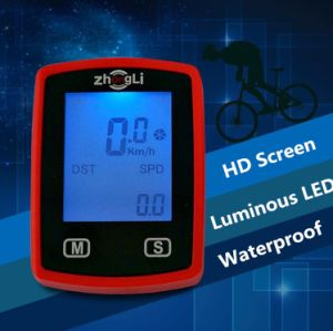 Touch HD Screen Luminous Cycling Computer pictures & photos
