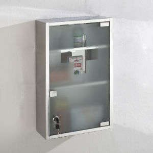 Small Style Stainless Steel Hospital Medical Cabinet with Lock pictures & photos