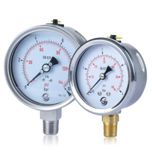 6 Inch Pressure Gauge pictures & photos