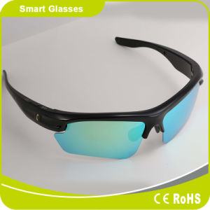 Polarized Interchangeable Lenses Bluetooth Headset Touch Button Sunglasses pictures & photos
