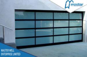 Transparent Glass Garage Door/Laminated Glass Garage Door pictures & photos