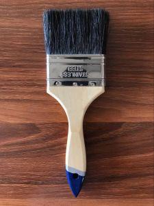 Thailand Market Black Bristle Paint Brush Wooden Handle pictures & photos