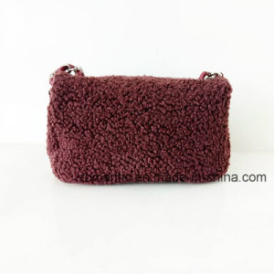 Trendy Design Women Fur Fabric Shoulder Handbags (NMDK-061001) pictures & photos