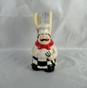 Hand-Painted Ceramic Chef Utensil Holder pictures & photos