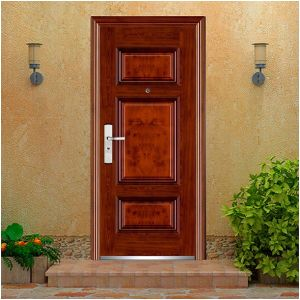 Yongkang Zhejinag China Modern Design High Quality Steel Door for Construction Project pictures & photos