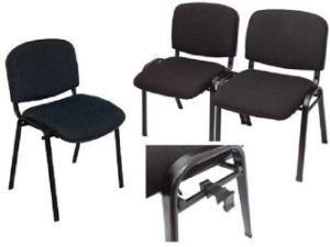 High Quality Visitor Chair Church Chair Interlock Metal Foot (SZ-OCM91) pictures & photos