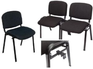High Quality Visitor Chair Church Chair with Interlock Metal Foot (SZ-OCM91) pictures & photos