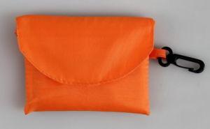 Promotion Folding Orange Shopping Bags