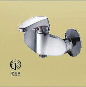 Oudinuo Single Handle Brass Shower Mixer & Faucet 69014-1 pictures & photos