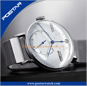 Factory Provided Double Domed 316L Stainless Steel Watch with Milanese Band pictures & photos