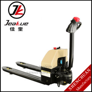 1500kg Full Electric Pallet Truck for Transporting pictures & photos