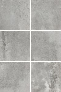600X600mm Grey Color Cement Rustic Tile Anti-Slip Flooring Tile Lx6619W pictures & photos