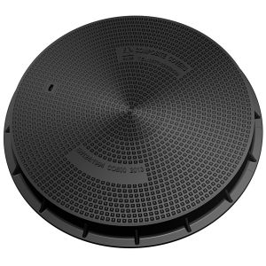 Watertight Composite Manhole Cover for for Petrol Station BS Standard pictures & photos