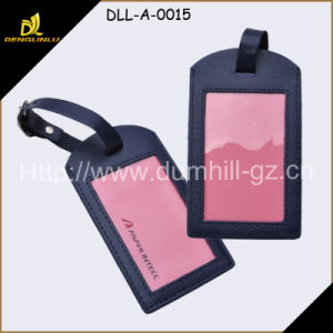2015 Wholesale Customized Logo Luggage Tag Leather