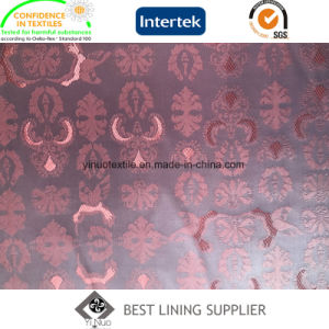 Shiny and Soft PV Suit and Jacket Jacquard Lining Fabric Supplier pictures & photos