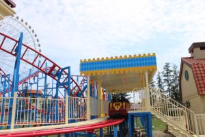 Popular Amusement Park Equipment Small Roller Coaster 12 Persons pictures & photos