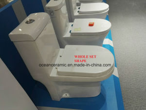 362W Saso Approved, Cheap Washdown One Piece Toilet pictures & photos