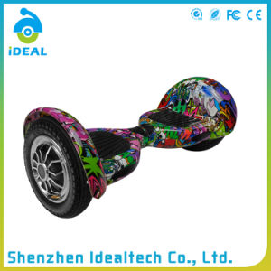 Ce / RoHS 36V 10 Inch Self Balance Electric Stand Scooter pictures & photos