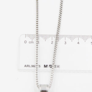 Stocked Sq O Pendant with Box Chain pictures & photos