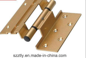Powder Coated / Anodised Aluminum Machined Hinge for Window and Door pictures & photos