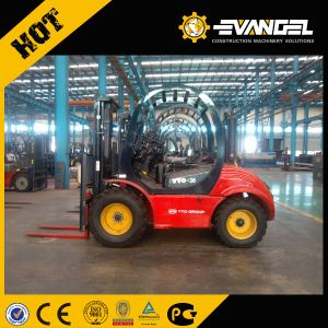 China Yto Brand New 3 Ton Diesel Rough Terrain Forklift for Sale Cpcd30 pictures & photos