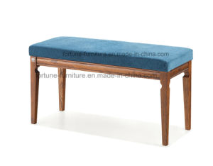 Modern Fabric Upholstered Wooden Dressing Stool (I&D-G10516-01)