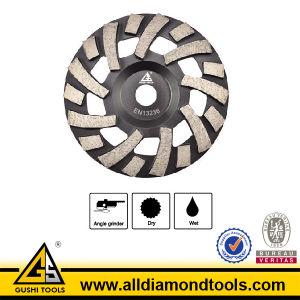 Brazed Bi-Turbo Diamond Cup Wheel pictures & photos