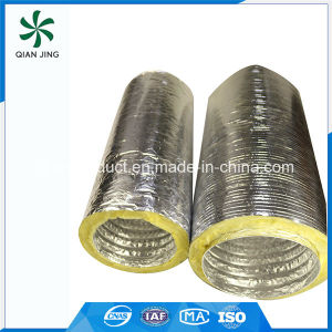 Sonoduct High Quality Fiberglass Insulated Aluminum Flexible Duct for HVAC pictures & photos