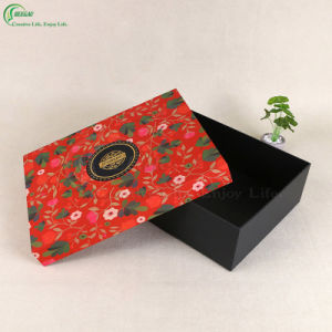 Flower Printing Packaging Cardboard Boxes (KG-PX090) pictures & photos