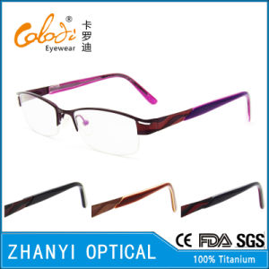 Latest Design Beta Titanium Optical Glasses (8319)