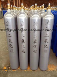 41.5L Helium Seamless Steel Gas Cylinder with Qf-2D Valve pictures & photos