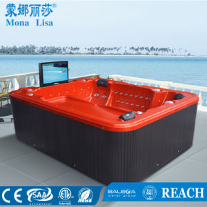 Monalisa China Supplier Massage Bathtub pictures & photos