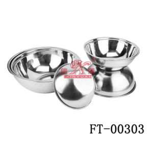 Stainless Steel Bowl (Thai Style) (FT-00303)