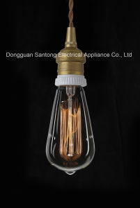St64 Carbon Filament Edison Vintage Bulb E22/B22 pictures & photos